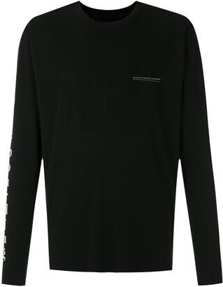 OSKLEN logo-print long-sleeve T-shirt
