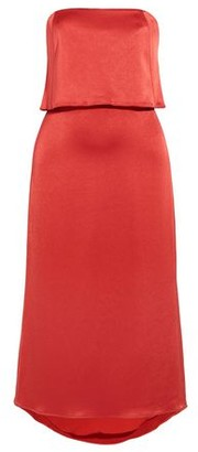 Halston Knee-length dress
