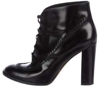 Alexander Wang Leather Ankle Booties