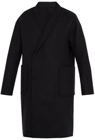 Wooyoungmi Patch-pocket wool-blend overcoat