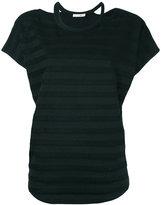 Rag & Bone Jean - striped T-shirt - women - Cotton/Polyester/Spandex/Elastane - XS