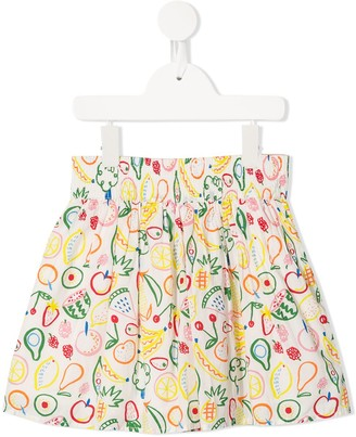 Stella Mccartney Kids Fruit Print Skirt