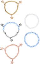 Monsoon 5x Starry Jewel Multipack Bracelets