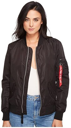 Alpha Industries L-2B Scout Jacket (Black) Women's Coat