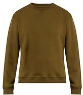 Fanmail Crew-neck organic-cotton jersey sweatshirt