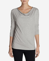 Eddie Bauer Women's Girl On The Go Cowl-Neck Top