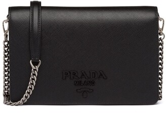 Prada Lettering Logo Mini Bag