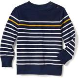 Old Navy French-Rib Crew-Neck Sweater for Toddler Boys
