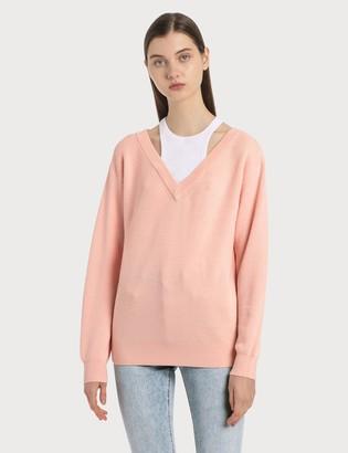 alexanderwang.t Classic Bi-layer Sweater