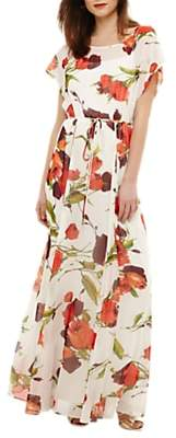 Phase Eight Candelia Maxi Dress, Ivory/Multi