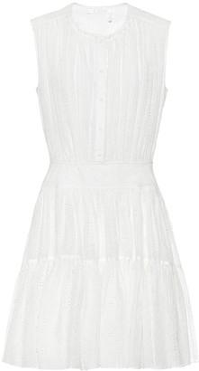 Chloé Cotton-blend minidress