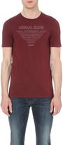 Armani Jeans Logo-print jersey t-shirt