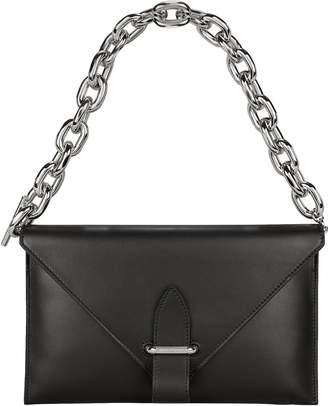 Paco Rabanne Chain Strap Envelope Clutch