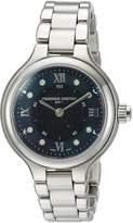 Frederique Constant Women's Horological Smartwatch 34mm Steel Bracelet & Case Quartz Watch FC-281GHD3ER6B