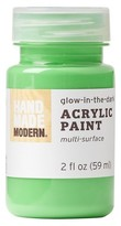 Hand Made Modern - 2oz Acrylic Paint - Glow in the Dark - Lime