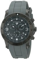 """Swiss Legend Men's 10164-GM-014 """"Everest"""" Stainless Steel Watch with Grey Silicone Band"""