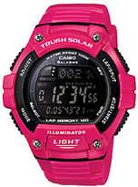 Casio Women's Pink Tough Solar Illuminator Sport Watch