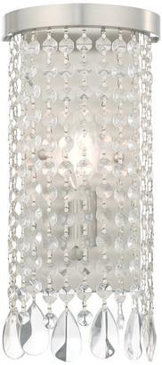 Livex Lighting Brushed Nickel 1-Light ADA Wall Sconce