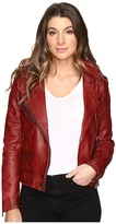 Blank NYC Real Leather Moto Jacket