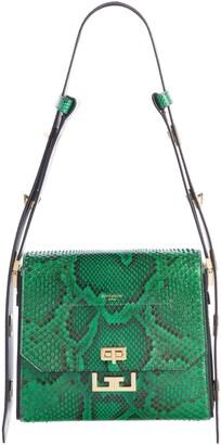 Givenchy Medium Eden Genuine Python Shoulder Bag