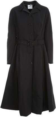 Aspesi Ratatouille Fitted Trench Thermore W/belt