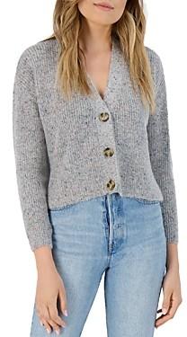 BB Dakota x Steve Madden Speckle Agent Cardigan Sweater