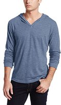 Threads 4 Thought Men's Pullover V-Neck Slub Hoodie