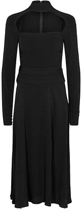 Rotate by Birger Christensen Ellen Slit Midi Dress