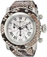 Glam Rock Women's GR11115 Miami Analog Display Swiss Quartz Beige Watch