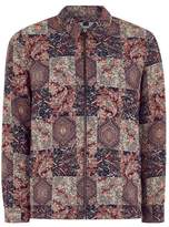 Topman Patchwork Tapestry Overshirt