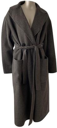 Max Mara Weekend Brown Wool Coats