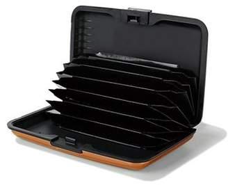 Homax Inc Aluminum Pocket Card Case Credit Card Holder Wallet With Multi Pockets, Black