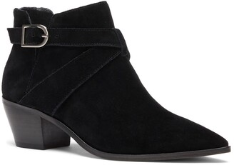 Sole Society Lanica Leather Ankle Bootie