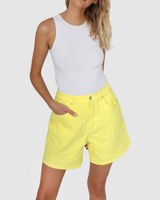 BY.DYLN - Women's Denim - Aspen Shorts - Size One Size, XS at The Iconic