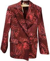 Stella McCartney Stella Mc Cartney Burgundy Wool Jackets
