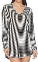 Splendid Women's Itsy Ditsy Floret Hoodie Tunic Cover up