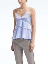 Banana Republic Layered Peplum Cami