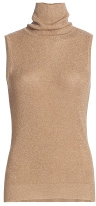 L'Agence Sabrina Sleeveless Turtleneck