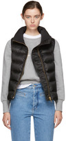 Burberry Black Down Bredon Vest