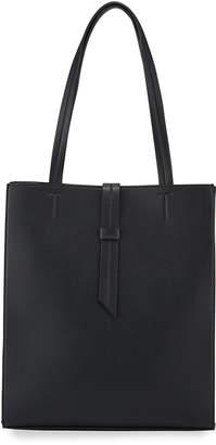 Neiman Marcus Faux-Leather Magazine Shopper Tote Bag