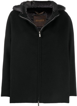 Moorer Hooded Zip-Up Jacket