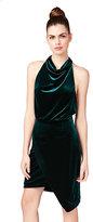 Betsey Johnson Showstopper Velvet Dress