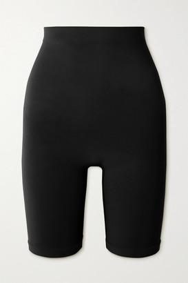 SKIMS Seamless Sculpt Sculpting Mid Thigh Shorts - Onyx