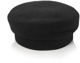 Janessa Leone Black Wool Cap