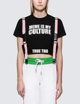 GCDS Meme S/S T-Shirt With Strap