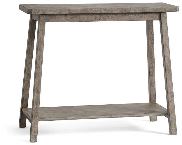 c13c8e56be Weathered Console Table - ShopStyle