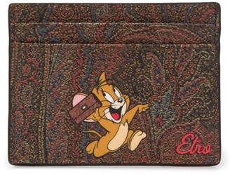 Etro x Tom and Jerry card holder