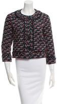 Kate Spade Patterned Tweed Jacket