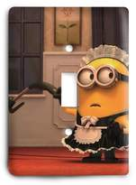 Single Light Switch Cover Minion Maid Light Switch Cover
