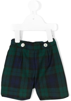 Siola Tartan Fitted Shorts